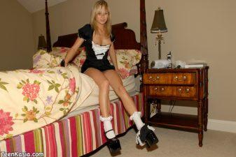 Maid french Teen kasia