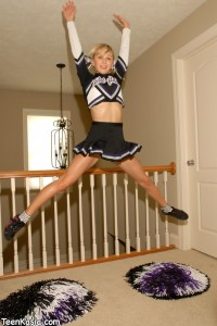 Teen Kasia Cheerleader